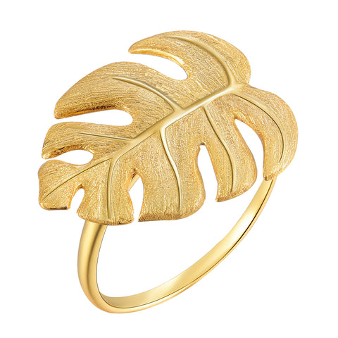 Monstera Petit™ - Handmade Ring