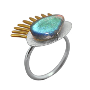 Blind Eyed - Adjustable Ring | NEW - MetalVoque