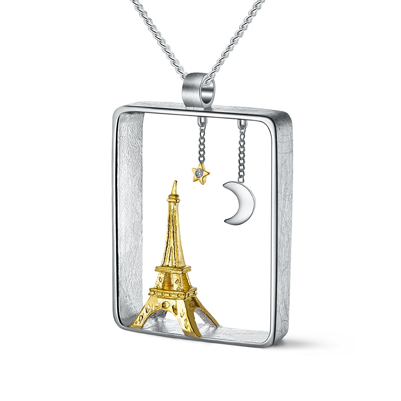 Paris At Night - Handmade Pendant | NEW