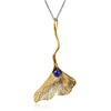 Ginkgo Leaf - Handmade Pendant | NEW - MetalVoque