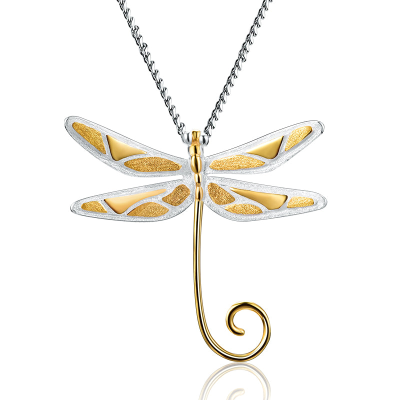 Dragonfly Lullaby - Handmade Pendant