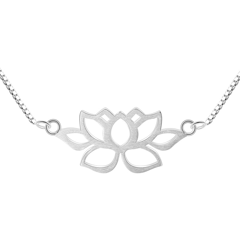 Minimal Lotus - Handmade Necklace | NEW