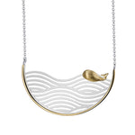Surfing Whale - Handmade Necklace | NEW
