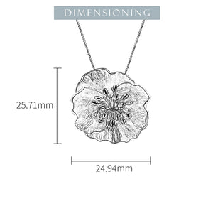 Blooming Poppies - Handmade Pendant | NEW