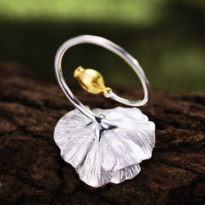 Blooming Poppies - Adjustable Ring