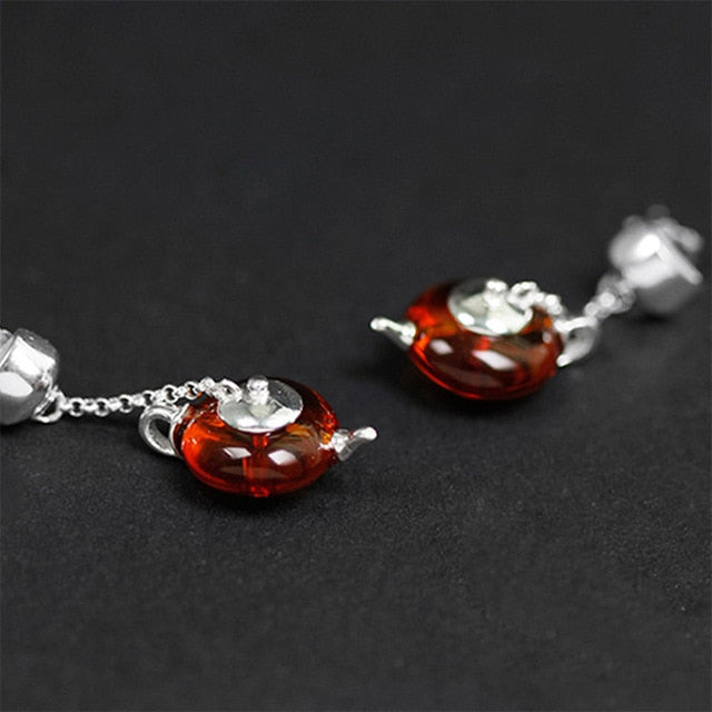 Tea Time - Dangle Earrings | NEW - MetalVoque