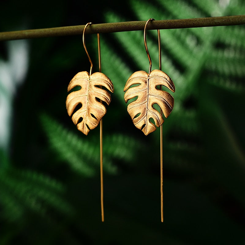 Monstera Petit - Jewelry Set - MetalVoque