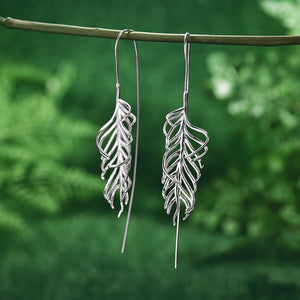Fiddle Fern - Handmade Earrings | NEW