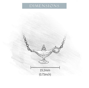 Magic Lamp - Handmade Necklace | NEW - MetalVoque