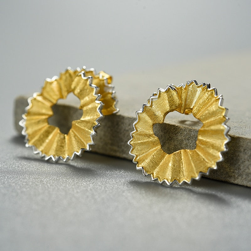 Pencil Art - Stud Earrings | NEW - MetalVoque