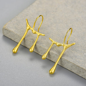 Honey Drops - Handmade Earrings | NEW - MetalVoque