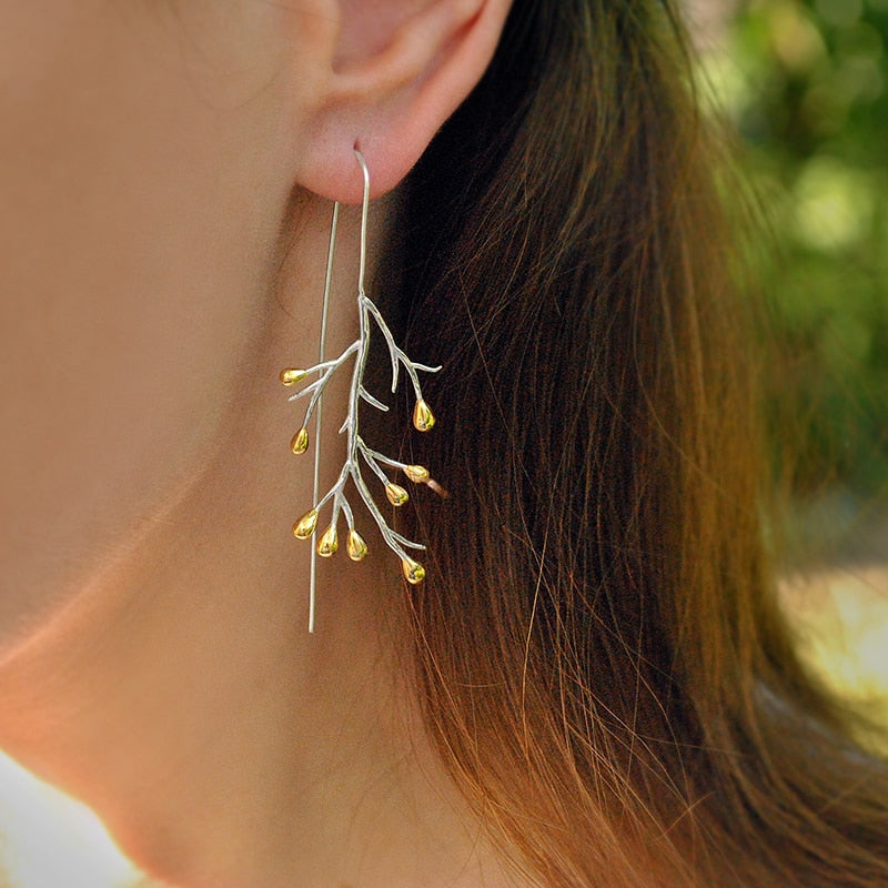 Topsy Tree - Dangle Earrings