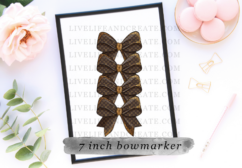 LV bookmarker only 4.5 or 7 inch