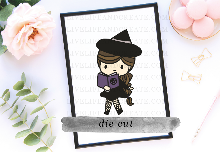 DIE CUT witch spell