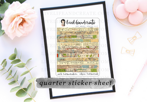New York Sticker Map Washi 4.0