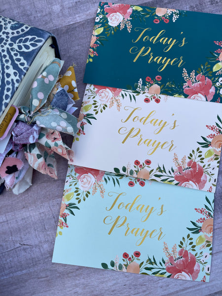 3 prayer cards- Philippians 4:13, Psalm 46:5, Psalm 46:10