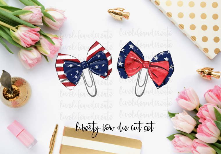 Liberty Bow Die Cuts