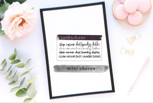 MINI: CHORES BUNDLE