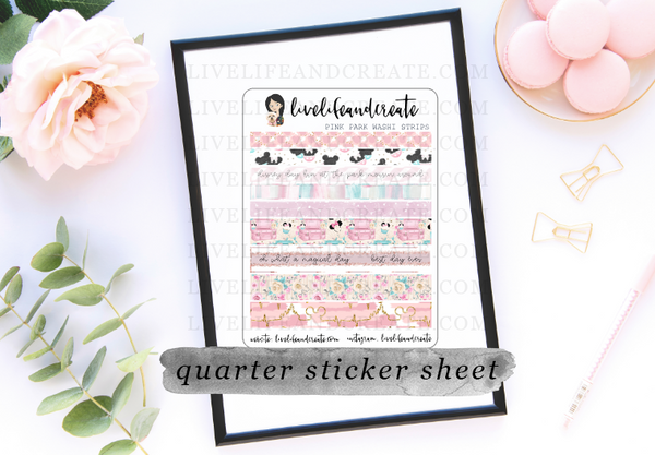 Park Adventure Washi Stickers- 2 options