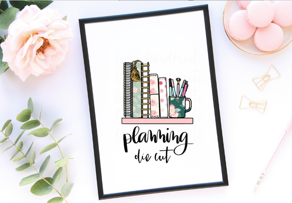 Planning Quarter Sheet or Die Cut