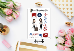 Wander Girl Die Cuts