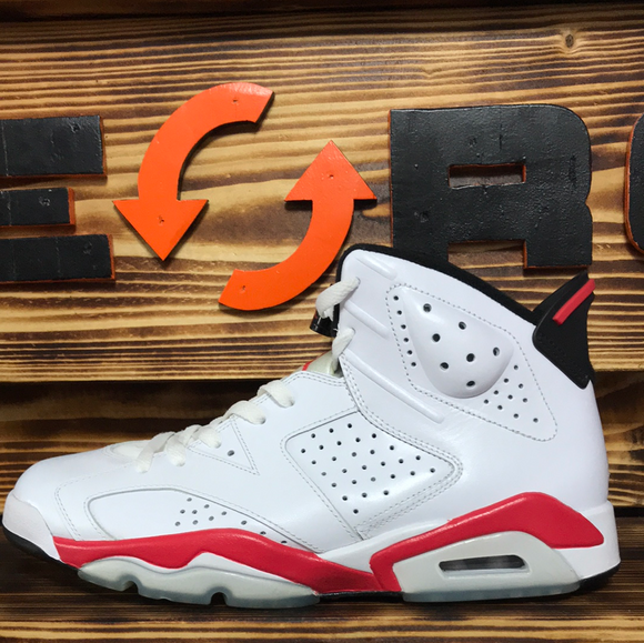 Jordan 6 Retro Infrared Pack White