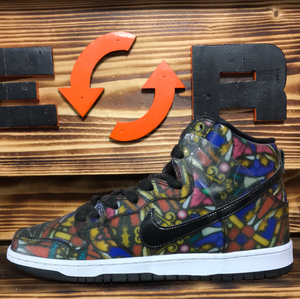 "Nike Dunk SB High ""Stained Glass"""