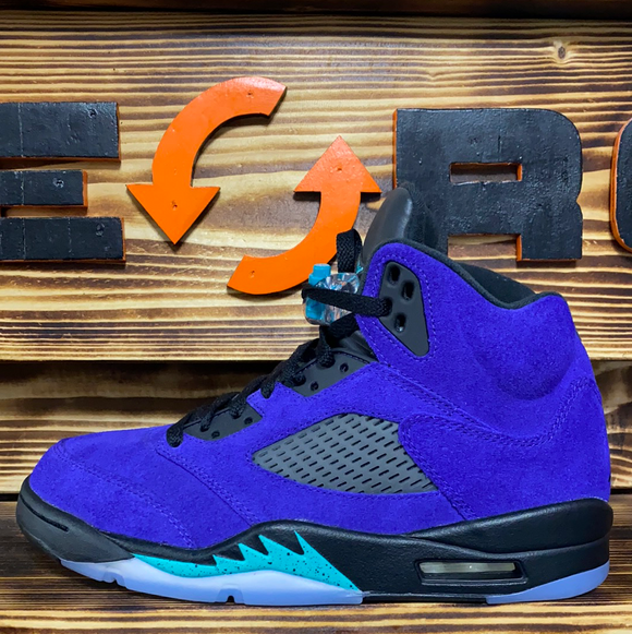 Jordan 5 Retro - Alternate Grapes