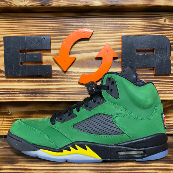 Jordan 5 Retro - Apple Green