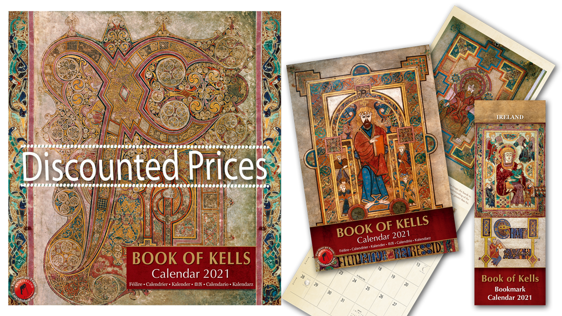 Calendrier Ffa 2021 Book of Kells – Irish Calendars