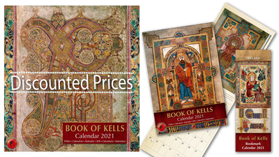 Book of Kells Calendar promotion
