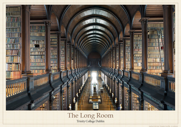 Long Room Poster-Print