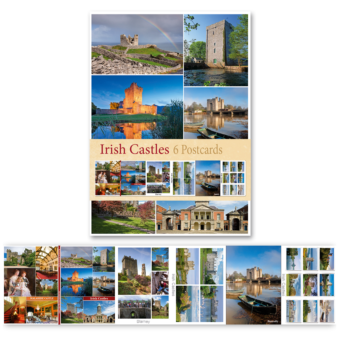 Irish Castles - Pack of 6 Postcards
