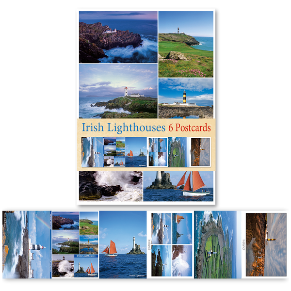 Irish Lighthouses - Pack of 6 Postcards