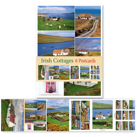 Irish Cottages - Pack of 6 Postcards