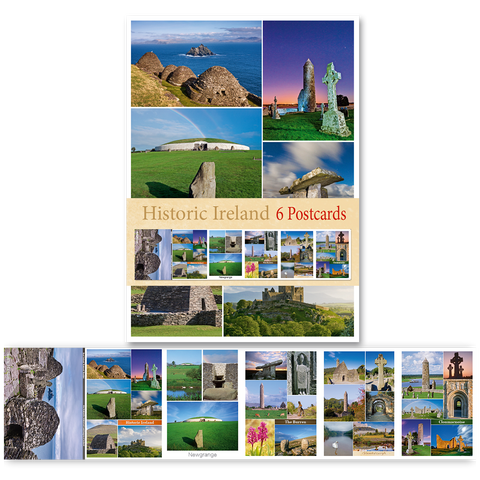 Historic Ireland- Pack of 6 Postcards