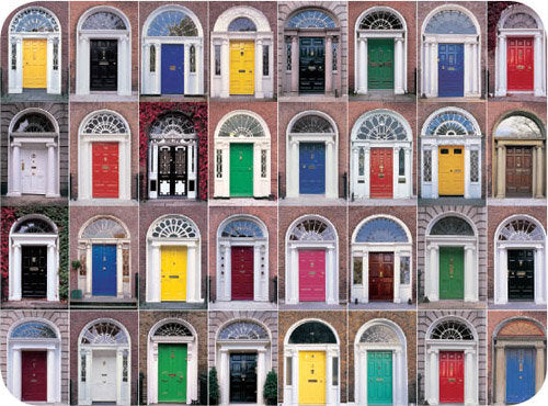 Doors of Dublin Placemats & Doors of Dublin Placemats | Irish Calendars pezcame.com