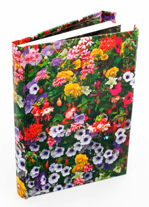 Flowers Voyage Lined Writing Journal