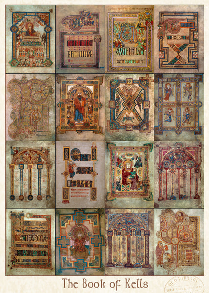 Book of Kells Pin-Up
