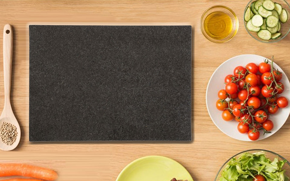 Diflart New Arrival- Black Granite Marble Pastry & Cutting Board