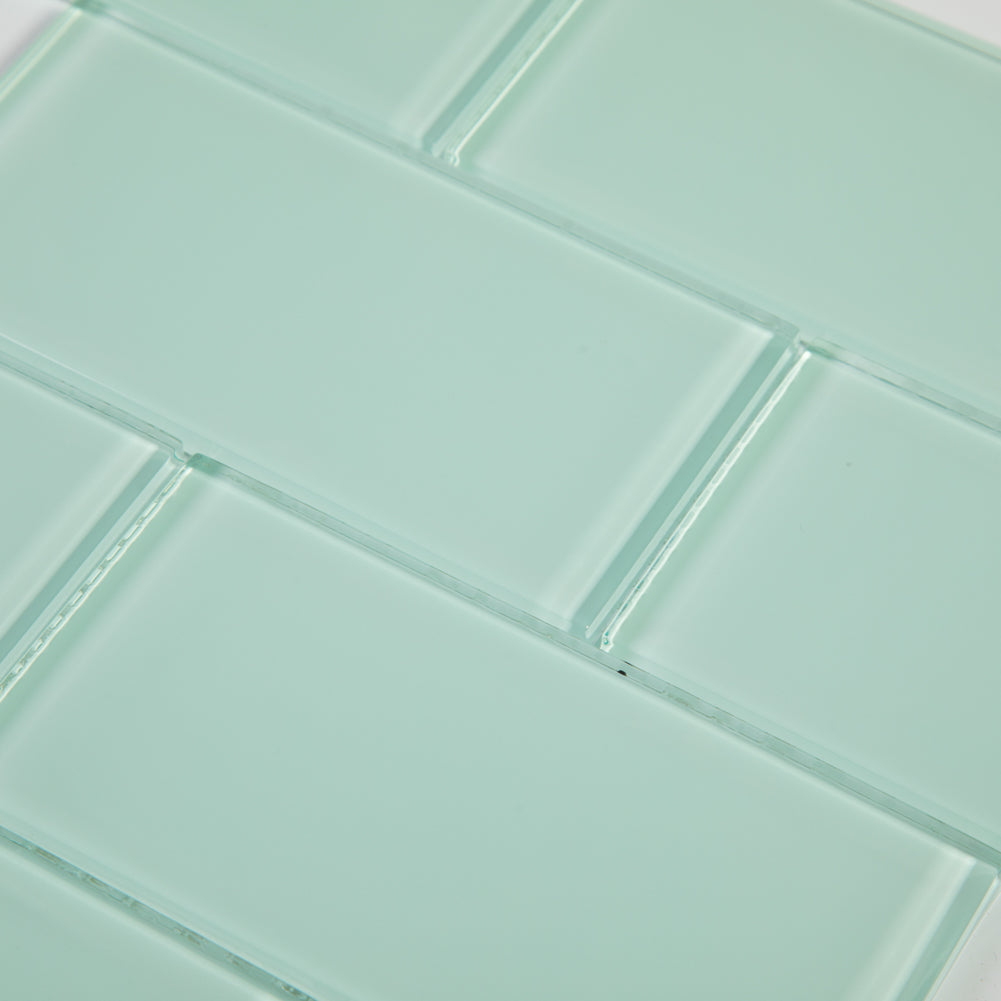 3x6 Ice Age Glass Subway Tile Pack of 40 (5 sq.ft)