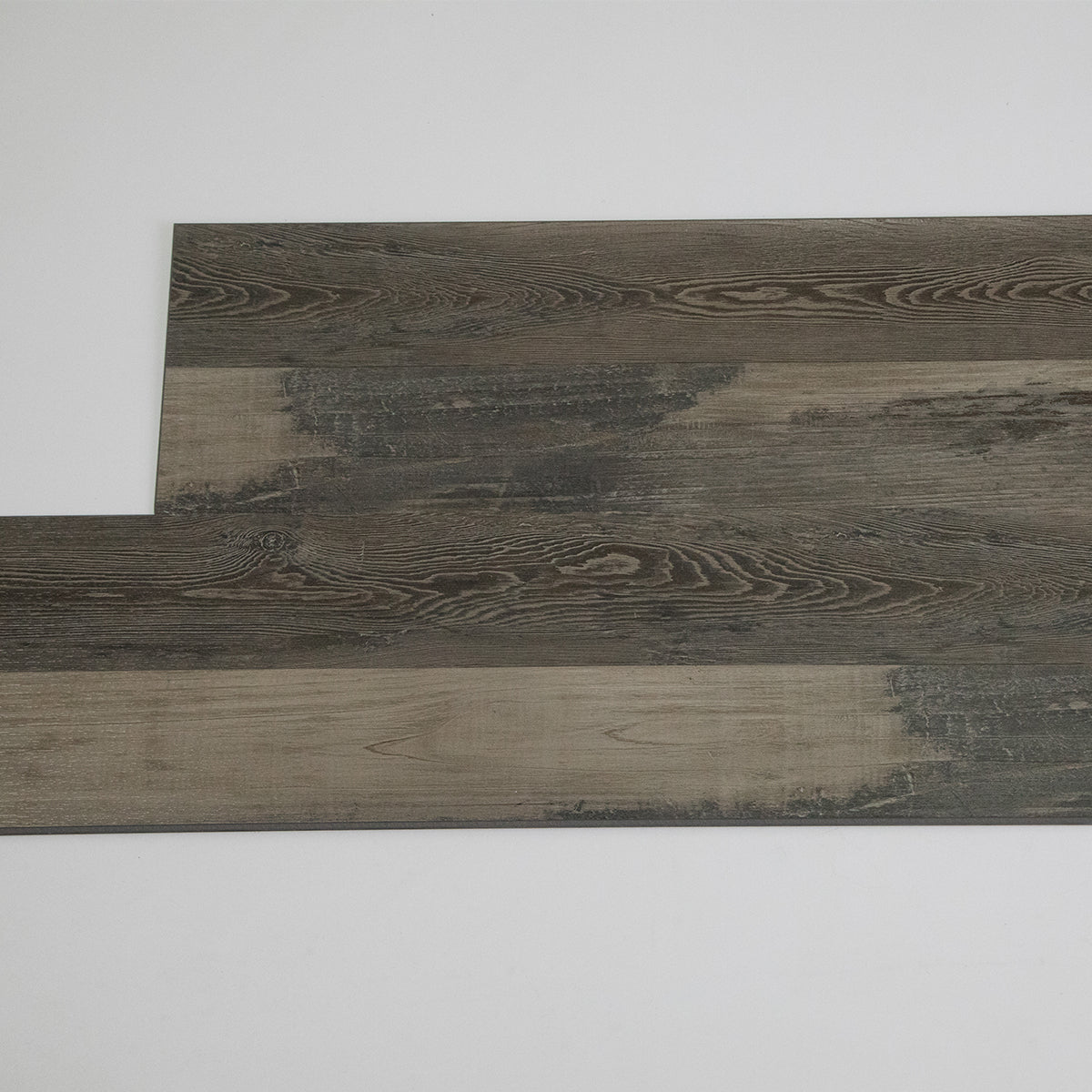 23.6 sq.ft Gray Maple Click Floating Floor Rigid Core Luxury Vinyl Plank Flooring - Foam Back
