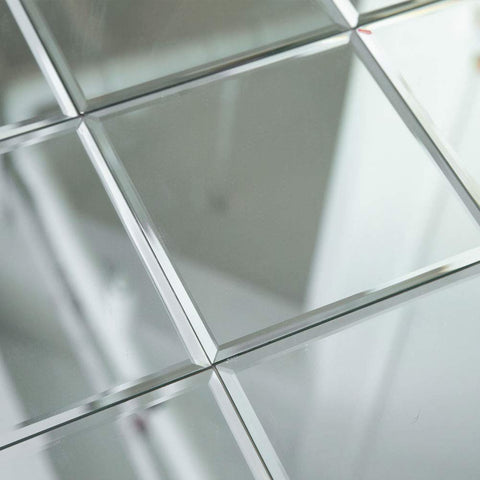 8x8 Inch Beveled Edge Mirror Tiles