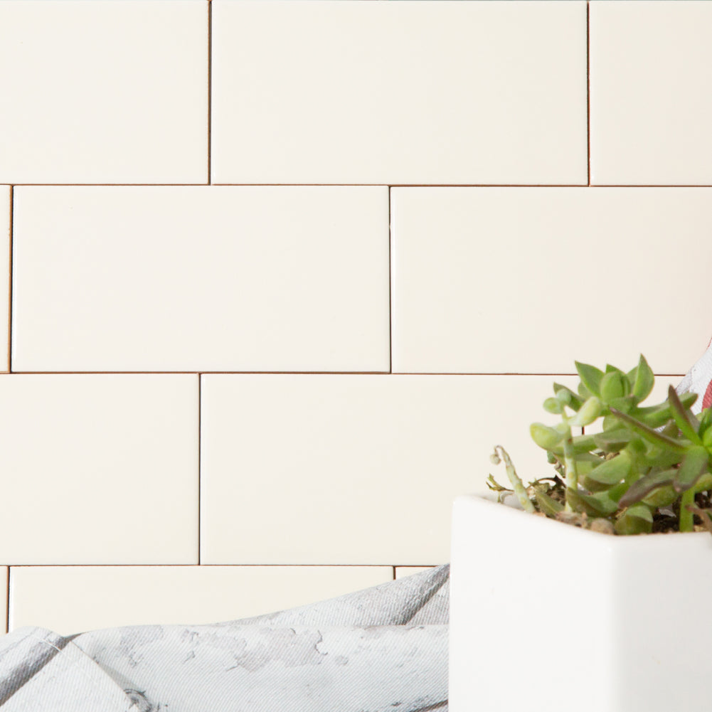 Ceramic 3x6 Beige Subway Tile Pack of 56 (7 sq.ft)