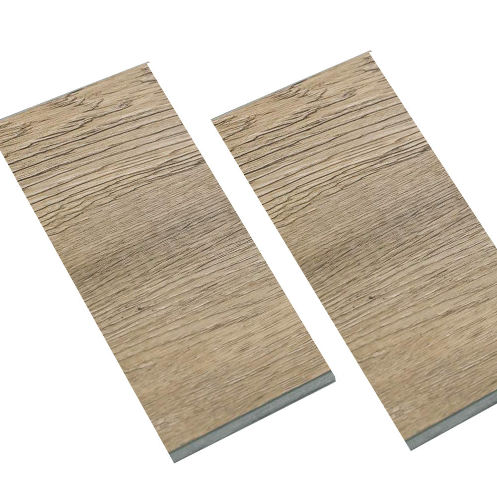 Walnut Wood Luxury Vinyl Click Locking Plank Flooring - Foam Back