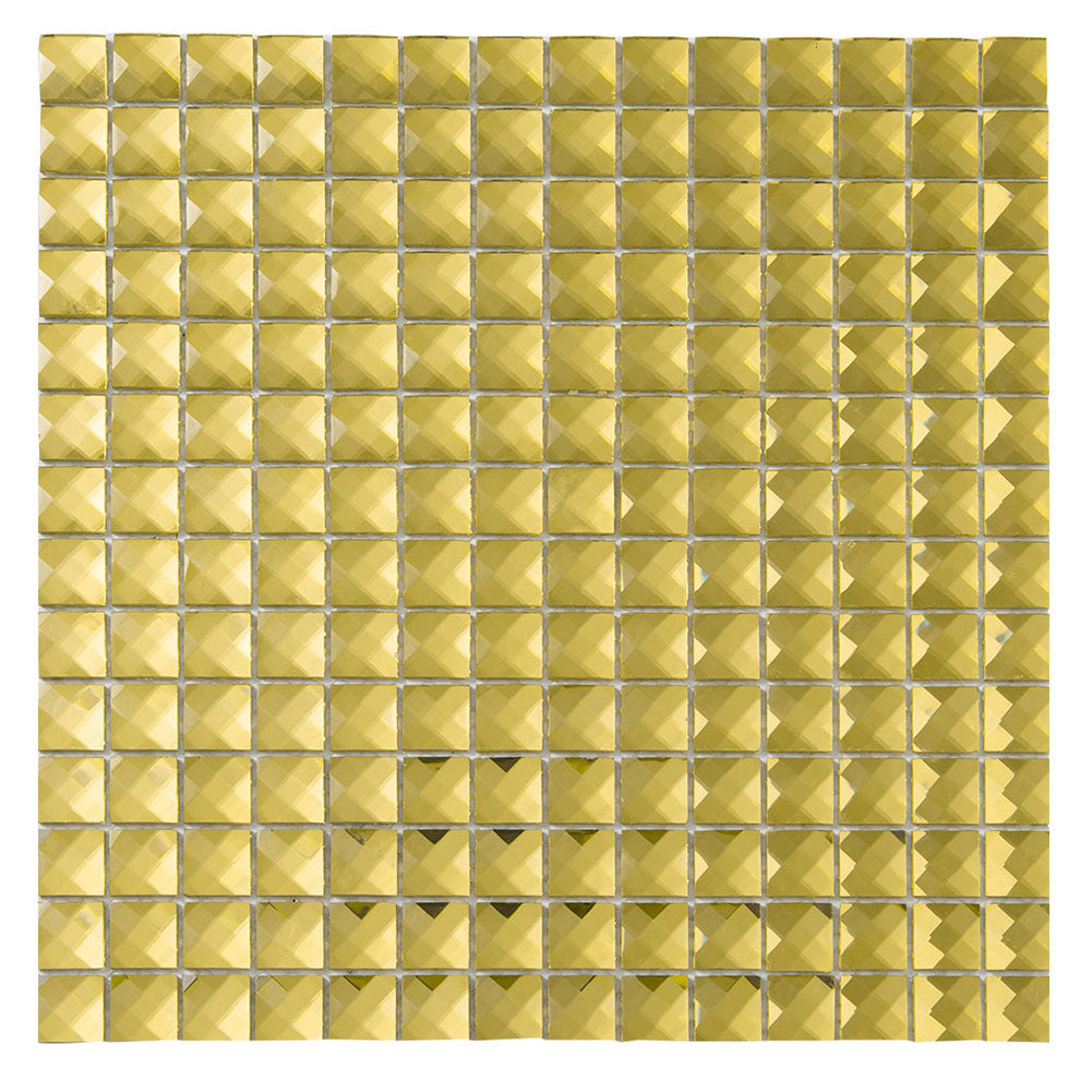 - Gold Glass Bling Mirror Mosaic Tile For Bathroom Wall Diflart