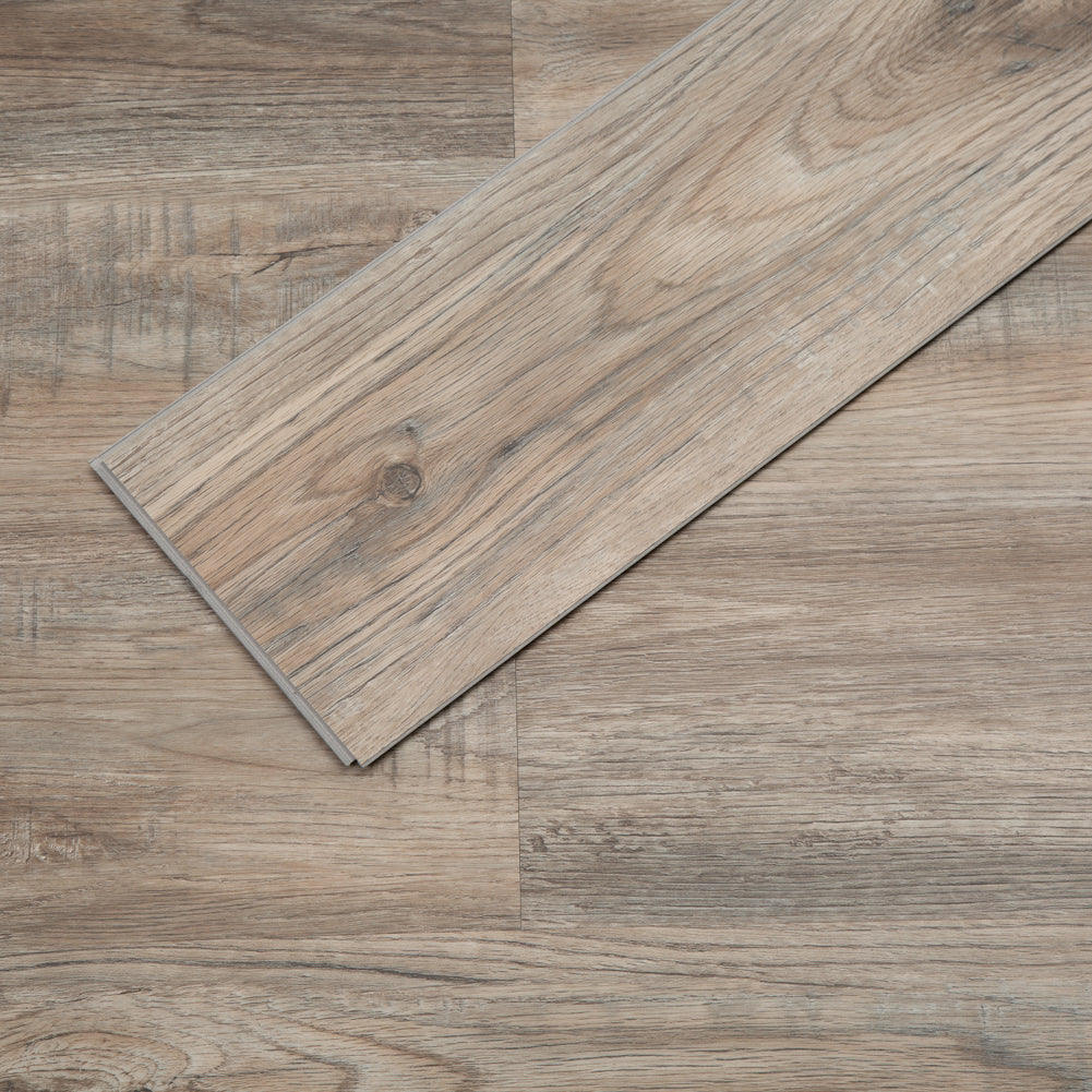 Provo Oak Rigid Core Luxury Vinyl Plank Flooring -  Foam Back