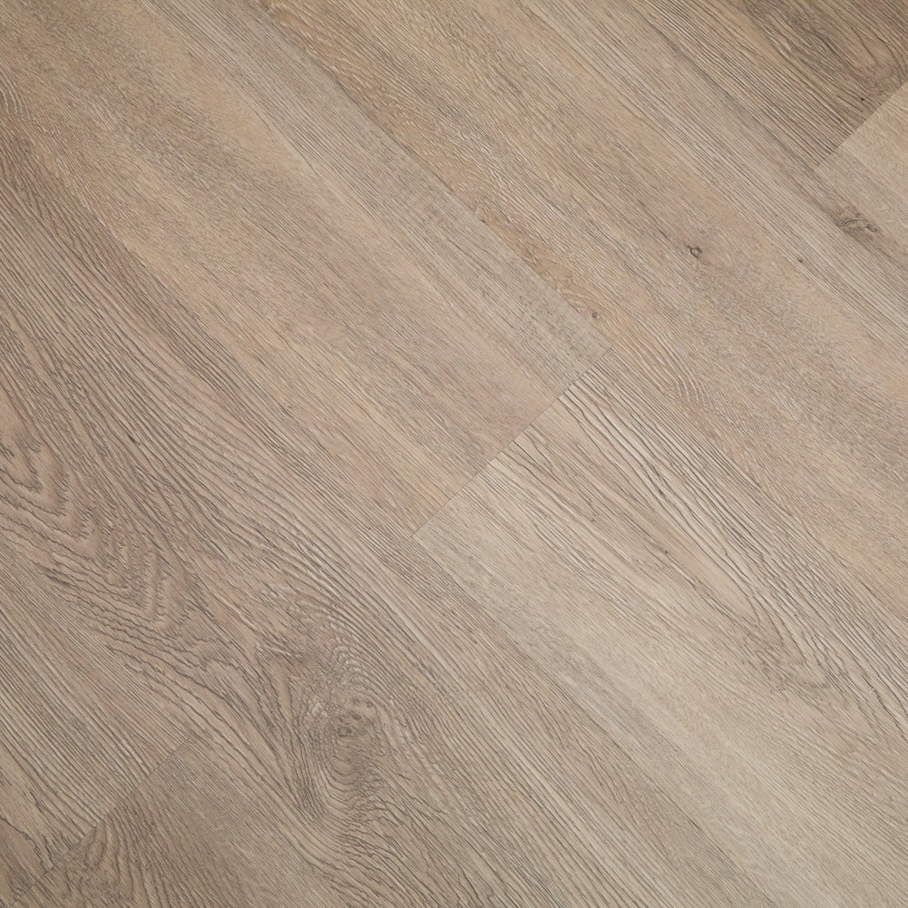 23.6 Sq.ft Walnut Wood Luxury Vinyl Click Locking Plank Flooring - Foam Back