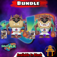 Funko POP! Taz Space Jam #414 [Common and Chase Bundle]