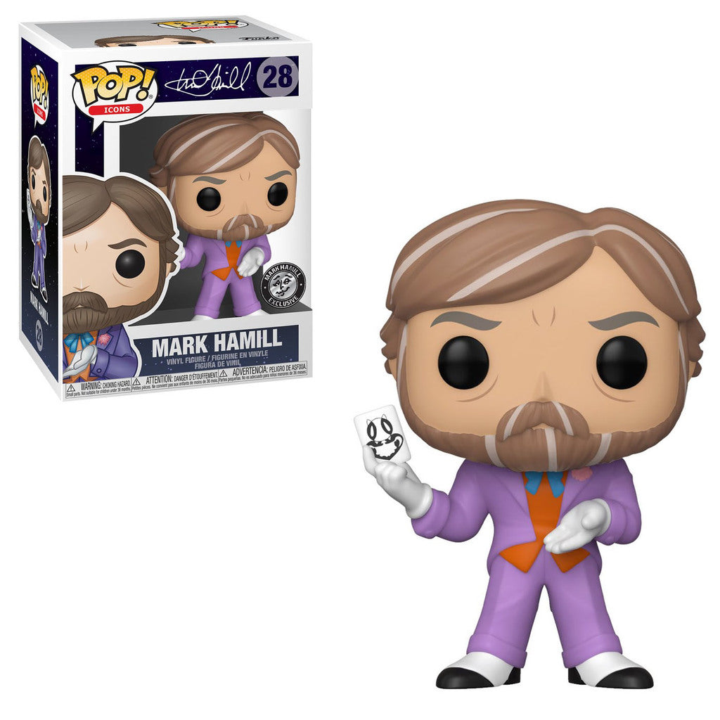 Funko POP! Mark Hamill As The Joker #28 [Designer Con Exclusive]
